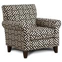 Fusion Furniture 502 Accent Chair - Item Number: 502Simpatico Ebony