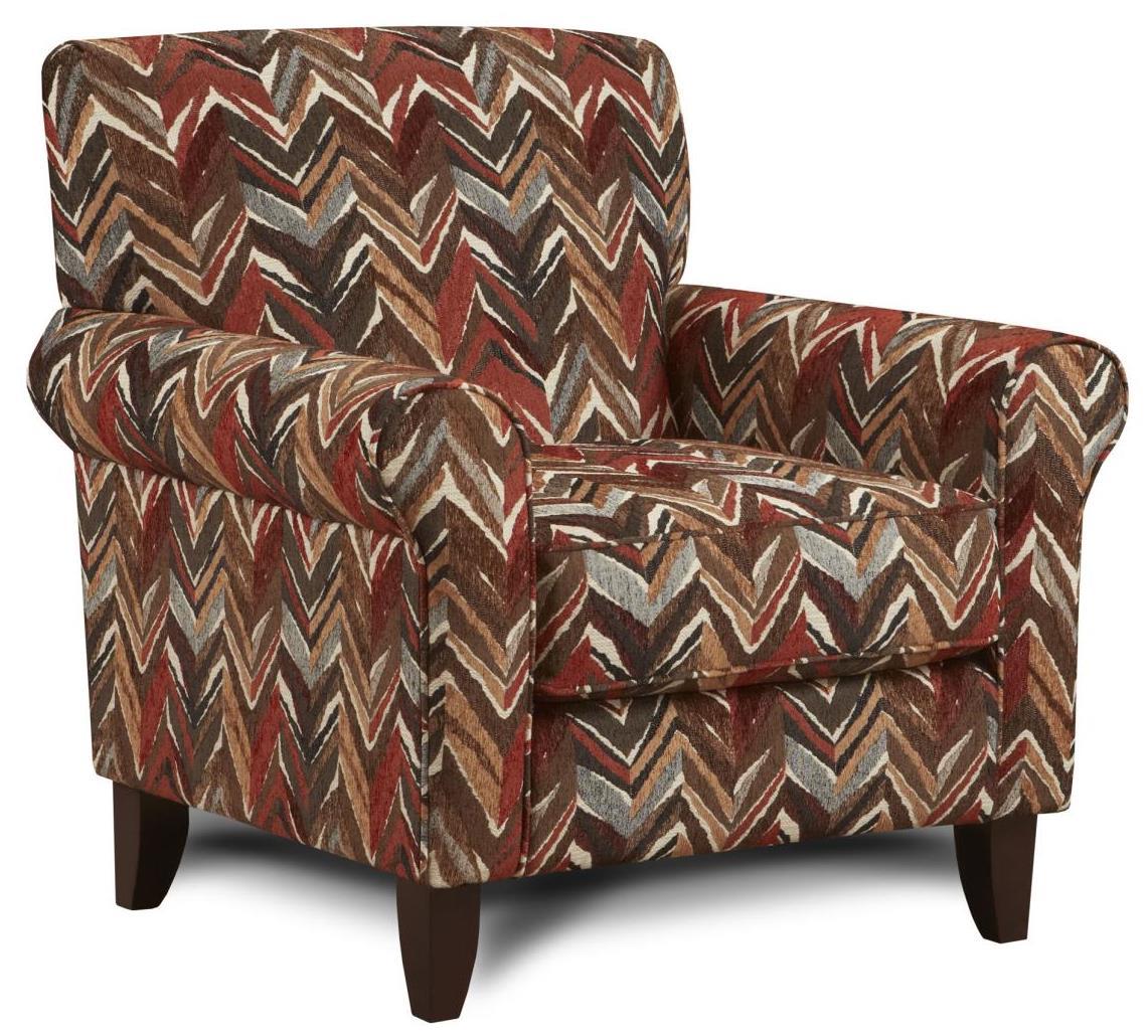 Fusion Furniture 502 Accent Chair - Item Number: 502Umbria Sedona