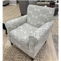 Fusion Furniture 502 Accent Chair - Item Number: 502Western Front Blanco