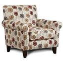 Fusion Furniture 502 Accent Chair - Item Number: 502Whimsy Sunset