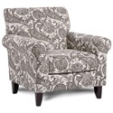Fusion Furniture 502 Accent Chair - Item Number: 502Wimbledon Granite