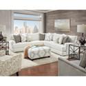 Fusion Furniture 51-00 Living Room Group - Item Number: 51-00 BI Living Room Group 1
