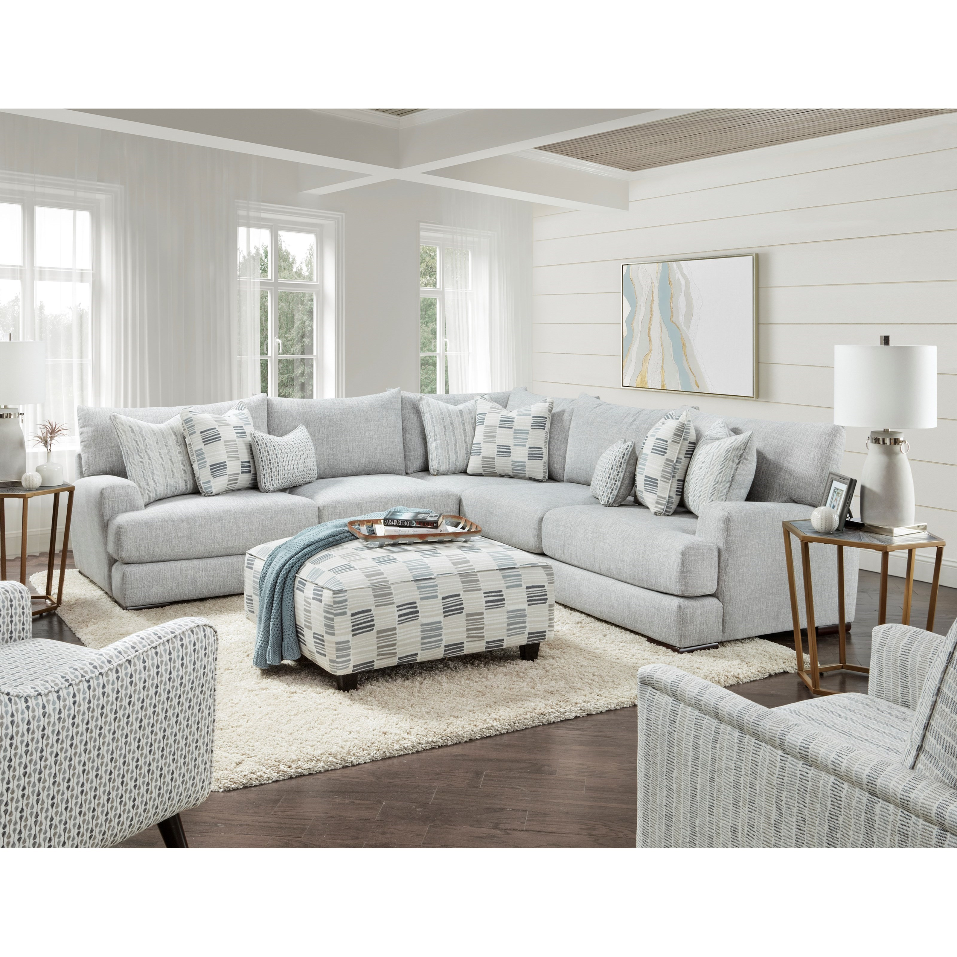 51-00 Living Room Group by Fusion Furniture at Hudson's Furniture