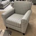 Fusion Furniture 512 Accent Chair - Item Number: 512Avonlea Dove