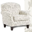 Fusion Furniture 532 Accent Chair - Item Number: 532Beckley Dove
