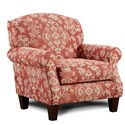 Fusion Furniture 532 Accent Chair - Item Number: 532Bedoya Pepper