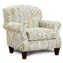Fusion Furniture 532 Accent Chair - Item Number: 532Beldam Ocean