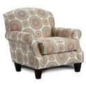 Haley Jordan 532 Accent Chair - Item Number: 532Brianne Marmalade