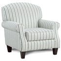Fusion Furniture 532 Accent Chair - Item Number: 532Budreau Mist