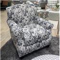 Fusion Furniture 532 Accent Chair - Item Number: 532Freesia Denim