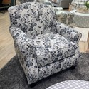 Fusion Furniture 532 Accent Chair - Item Number: 532Freesia Denim