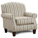 Fusion Furniture 532 Accent Chair - Item Number: 532Haberdashery Flannel