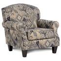 Fusion Furniture 532 Accent Chair - Item Number: 532Harcourt Indigo