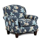 Fusion Furniture 532 Accent Chair - Item Number: 532Helene Floral Admiral