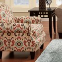 Fusion Furniture 532 Accent Chair - Item Number: 532Holiday Persian