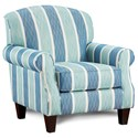Fusion Furniture 532 Accent Chair - Item Number: 532Lifes A Beach Oceanside