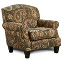 Fusion Furniture 532 Accent Chair - Item Number: 532Lockleigh Cinnamon