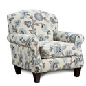 Fusion Furniture 532 Accent Chair - Item Number: 532Maya Indigo