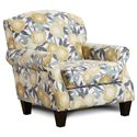 Fusion Furniture 532 Accent Chair - Item Number: 532Peony Vine Dew
