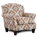 Fusion Furniture 532 Accent Chair - Item Number: 532Samara Citrus