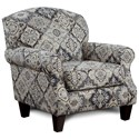 Fusion Furniture 532 Accent Chair - Item Number: 532Sambuca Cobalt