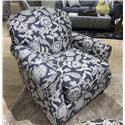 Fusion Furniture 532 Accent Chair - Item Number: 532Sophie Indigo