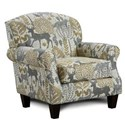 Fusion Furniture 532 Accent Chair - Item Number: 532Spellbind Leaf