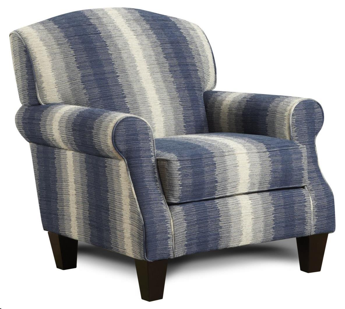 Fusion Furniture 532 Accent Chair - Item Number: 532Weimart Twilight