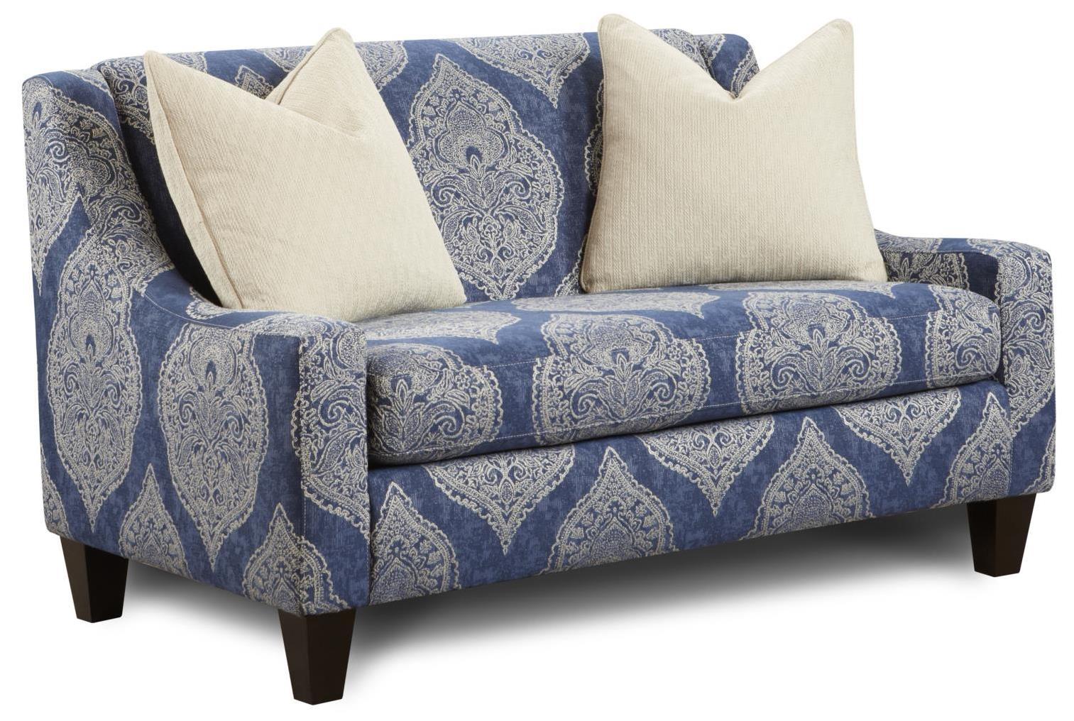 Fusion Furniture 550 Settee - Item Number: 550Burgess Brigadier