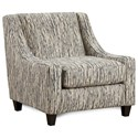 Fusion Furniture 552 Accent Chair - Item Number: 552Local Color Steel