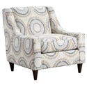 Fusion Furniture 552 Accent Chair - Item Number: 552Manifesto Orson Belgian