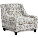 Haley Jordan 552 Accent Chair - Item Number: 552Mountain View Cement