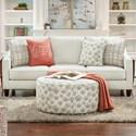 Fusion Furniture 59-00 Sofa - Item Number: 59-00Invitation Linen