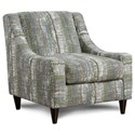Fusion Furniture 592 Accent Chair - Item Number: 592Drip Glaze Prism