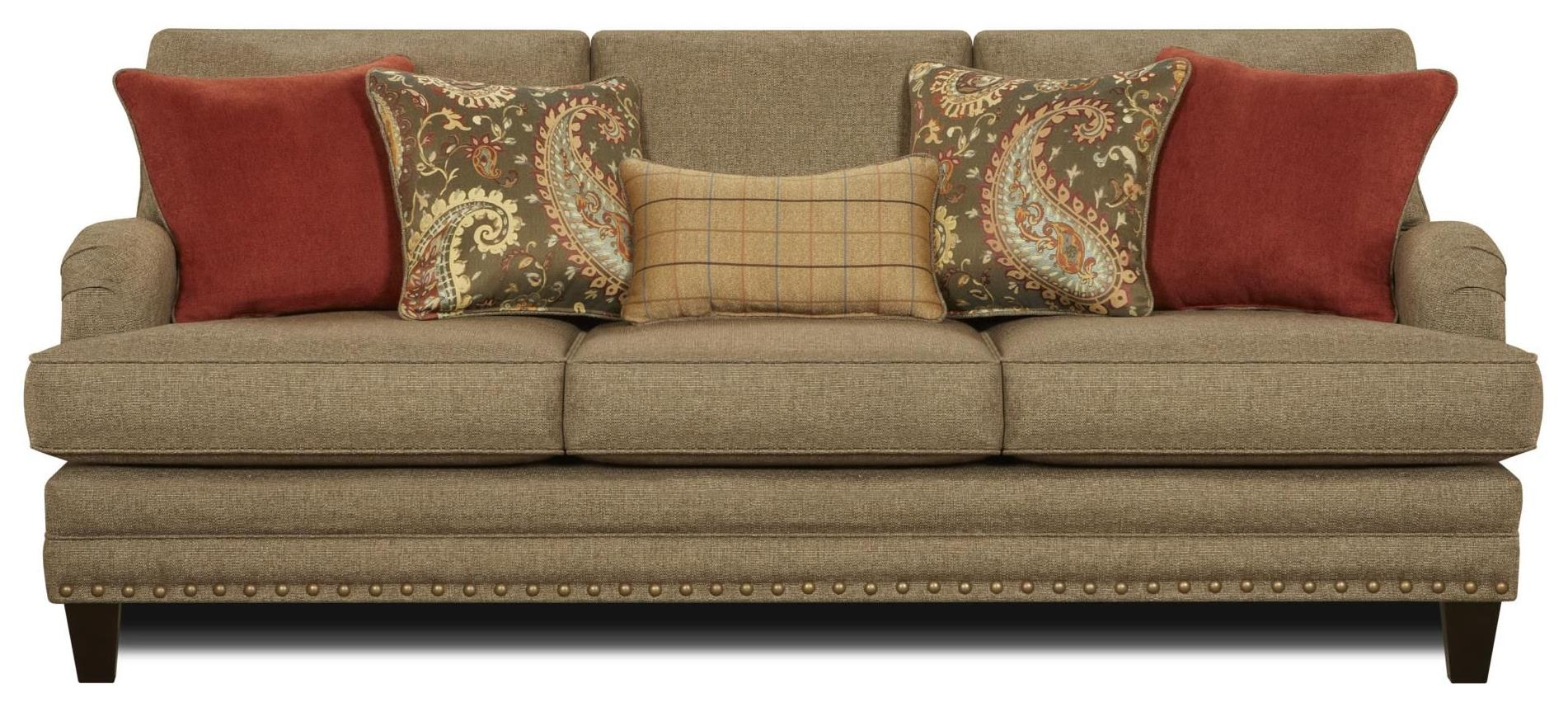 Fusion Furniture 5960 Sofa - Item Number: 5960-KPHanson Cypress