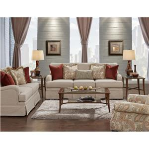 Fusion Furniture 6000 Stationary Living Room Group