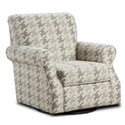 Fusion Furniture 602 Swivel Accent Chair - Item Number: 602-SBLASS BERBER