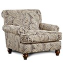 Fusion Furniture 622 Chair - Item Number: 622Capernicus Cobblestone