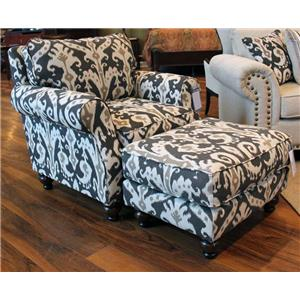Fusion Furniture Casbah Mink Casbah Mink Ottoman