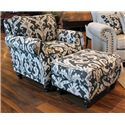 Fusion Furniture 652 Casbah Mink Ottoman - Item Number: 653
