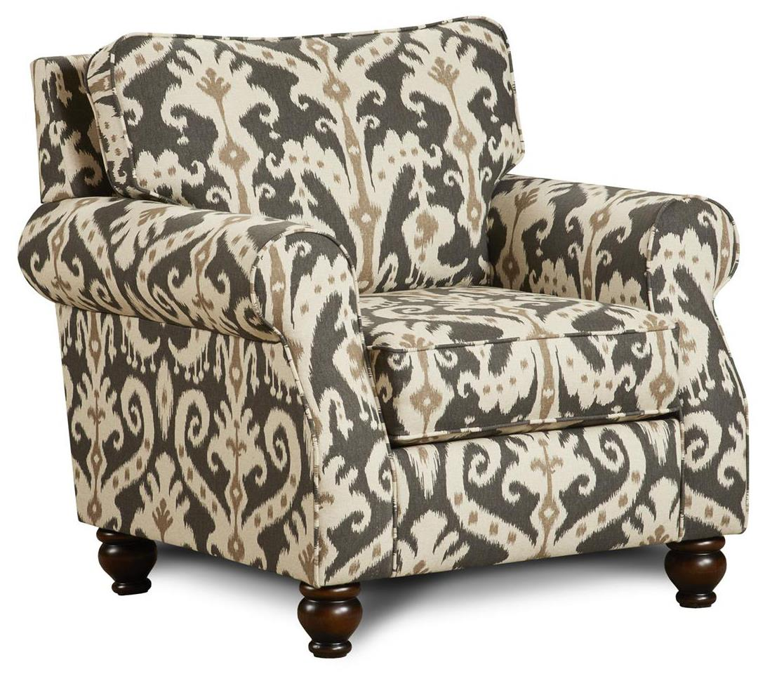 Fusion Furniture 652 Chair - Item Number: 652Casbah Mink