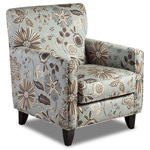 Fusion Furniture 702 - Lexa Surf Accent Chair