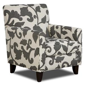 Fusion Furniture 702 - Marcie Onyx Accent Chair