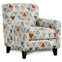 Fusion Furniture 702 Accent Chair - Item Number: 702Devo Orange