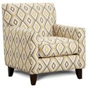 Fusion Furniture 702 Accent Chair - Item Number: 702Doozie Dijon