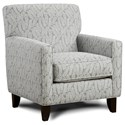 Fusion Furniture 702 Accent Chair - Item Number: 702Eyelet Powder