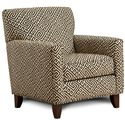 Fusion Furniture 702 - Thespian Mocha Accent Chair - Item Number: 702KM