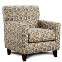 Fusion Furniture 702 Accent Chair - Item Number: 702Macon Galaxy