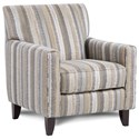 Fusion Furniture 702 Accent Chair - Item Number: 702Savino Chambray