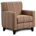 Fusion Furniture 702 Accent Chair - Item Number: 702Silvester Fireside